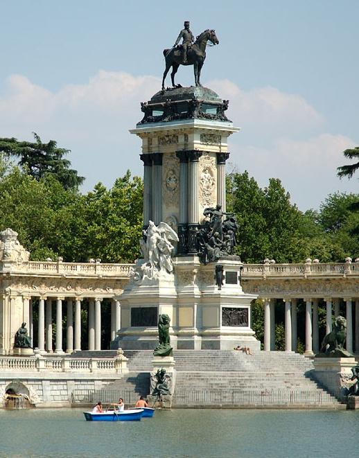 Madrid el rey leon parque del retiro museo thyssen viajes puerta palma - Viajes puerta palma 2017 ...